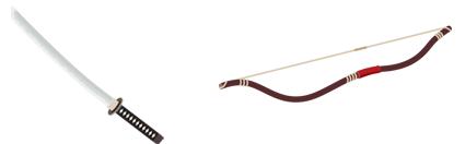 戦国の刀&弓