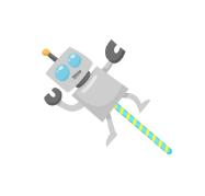 ココログロボット飴