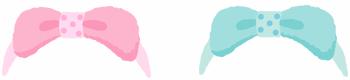 ルームヘアバンド 2色