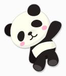 パンダのぬいぐるみ