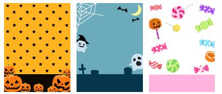 ハロウィン かぼちゃ&おばけ&キャンディ