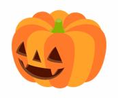 特大かぼちゃおばけ