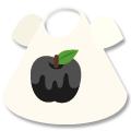 Tシャツ 毒リンゴ