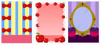白雪姫 リボン&りんご&魔法の鏡