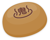 手持ち鬼が島温泉饅頭