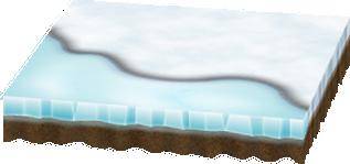 雪と氷のシートA