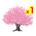 桜の木 濃いピンク