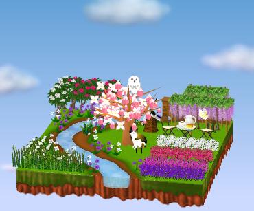 庭の参考例