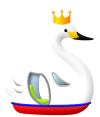 王冠スワンボート