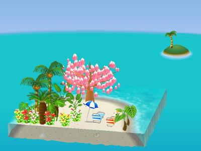 南の島シート
