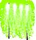 ちびナイアガラ花火 緑