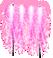 ちびナイアガラ花火 桃