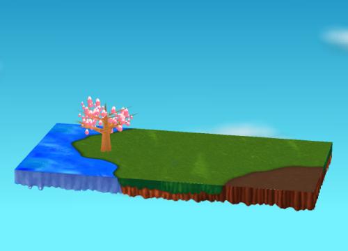 庭を追加したイメージ