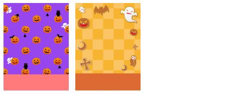 闇夜のかぼちゃ、ハロウィンクッキー