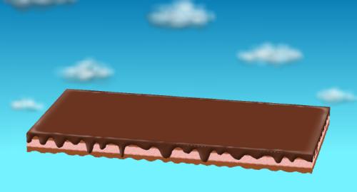 チョコケーキシート