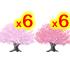 桜の木A 2種 12本