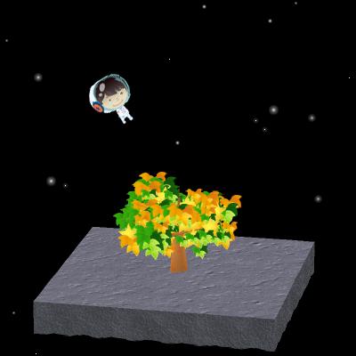 【イベントその2】アバターが宇宙遊泳できる