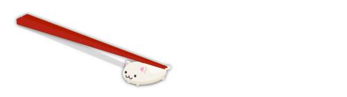 猫箸置きセット下向き