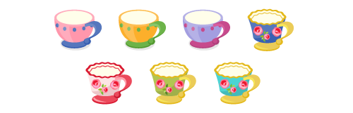 ティーカップ各種
