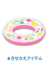 浮き輪 ピンク