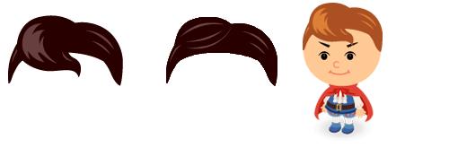 前髪 王子ヘア・王子ヘア1