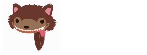 オオカミ帽子