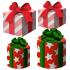 プレゼントの箱 4種4個