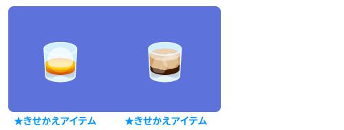 手持ちウイスキーロック・手持ちコーヒーカクテル