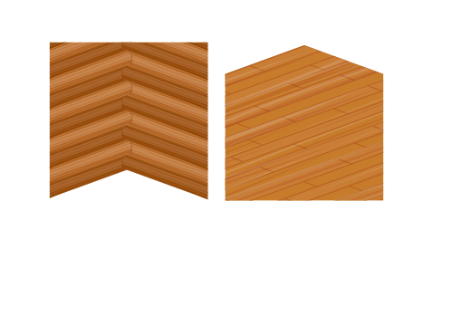 ログハウス壁・ログハウス床