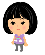 虹Tシャツラベンダー