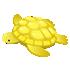 金のウミガメ