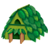 葉っぱの家