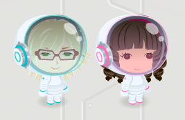 「宇宙服ヘルメット白」「宇宙服ヘルメット白ピンク」