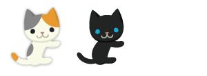 だっこ猫、だっこ猫黒