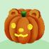 でかかぼちゃランプB クマ