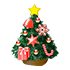 クリスマスツリーB 赤