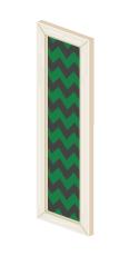 壁掛フレームロング白緑