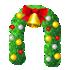 クリスマスアーチ