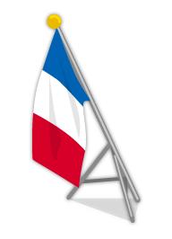 フランス国旗ポール