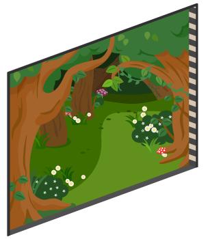 アリスの森の窓大Lv1