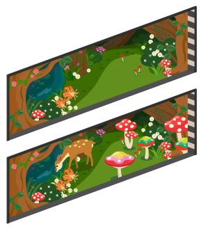 アリスの森の窓小Lv2・アリスの森の窓小Lv最大