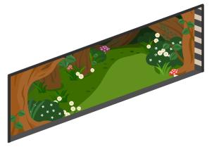 アリスの森の窓小Lv1