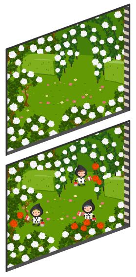 アリスのバラ園の窓大Lv2・アリスのバラ園の窓大Lv最大