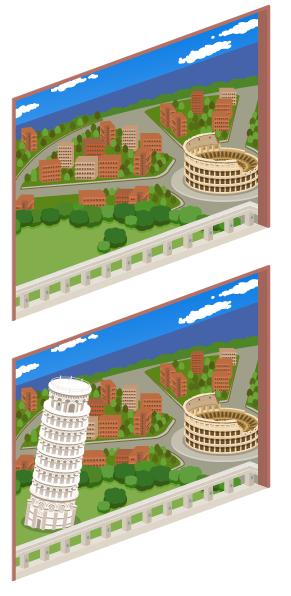 イタリアの風景窓大Lv2・イタリアの風景窓大Lv最大