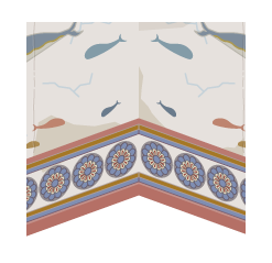 イルカ壁画の壁紙