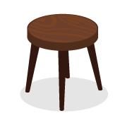 木製バーチェア