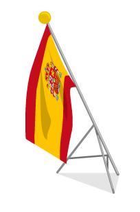 スペイン国旗ポール