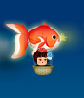 金魚提灯気球
