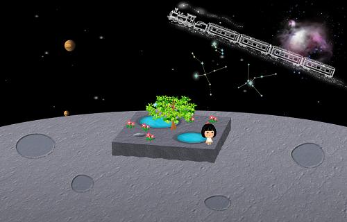 コイコイ太陽系 金星 設置例