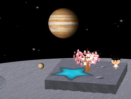 コイコイ太陽系 木星 コーディネート例
